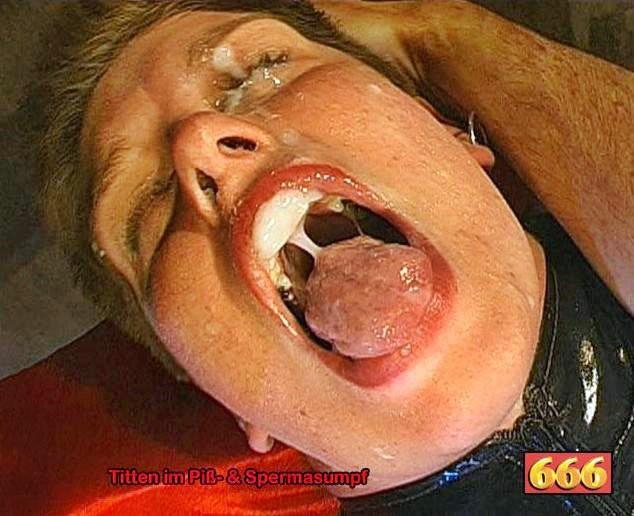 Полный рот спермы и мочи