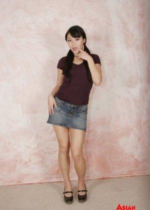Ебля не толстой зрелой азиатки от первого лица