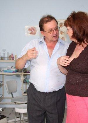 Обследования пожилой бабы в гинекологии