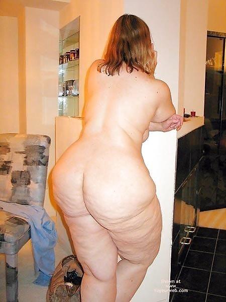 Жирные жопы женщин - компиляция 9