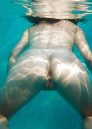 Под водой (голая пизда) - компиляция 5