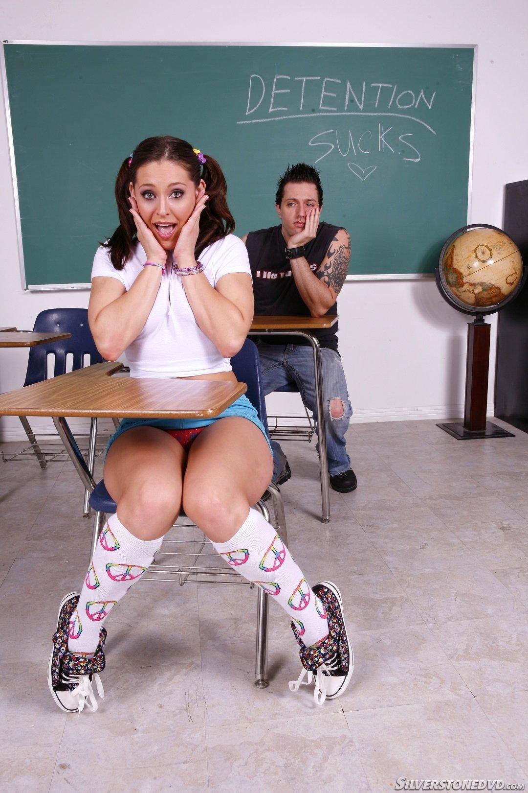Студентке залили спермой лицо