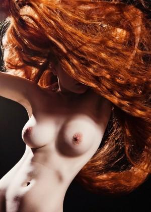 Рыжие милахи с длинными волосами