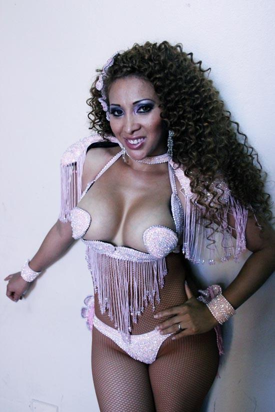 Модель из Перу Эльвира Паломино