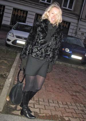 Зрелая блондинка из Польши сосет и принимает член мужа в свои дырки