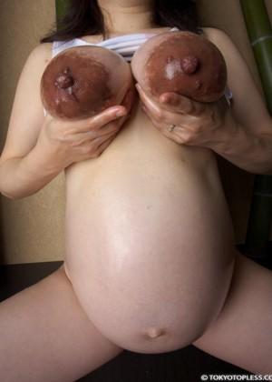 Голые беременные женщины - компиляция 18