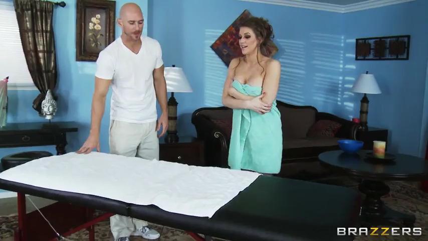 Еве Лоуренс очень понравился массаж, вернее то, как ее чпокнул массажист