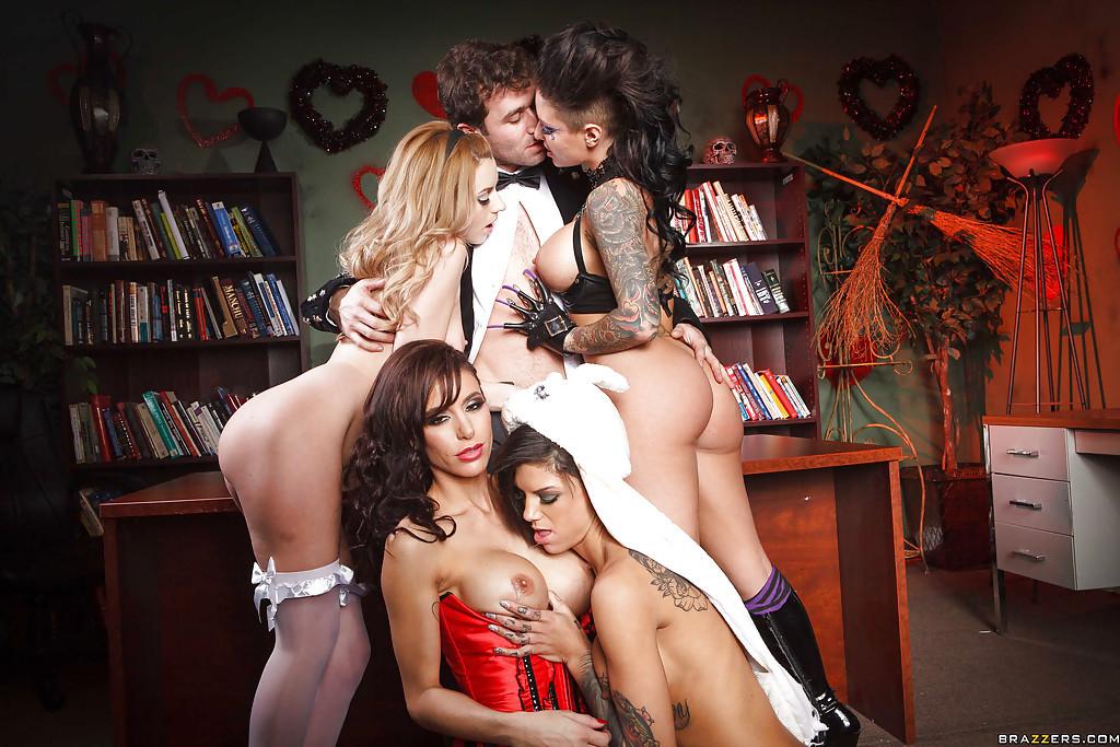 Lexi Belle, Gia Dimarco, Christy Mack, Bonnie Rotten - Галерея 3436478