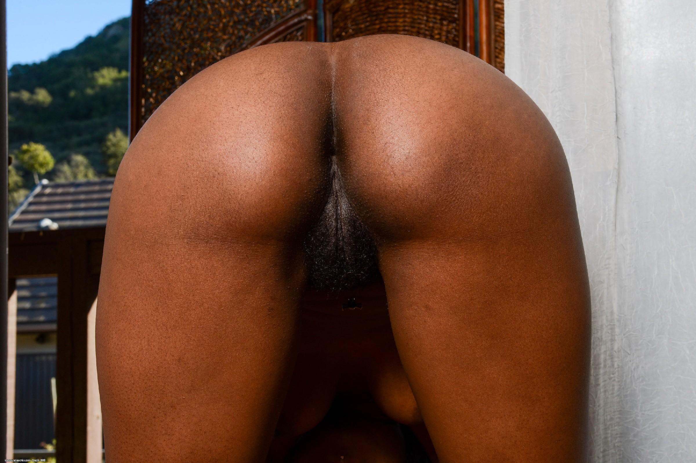 Нина – темнокожая пантера, которая абсолютно не стесняется показывать свое тело всем подряд