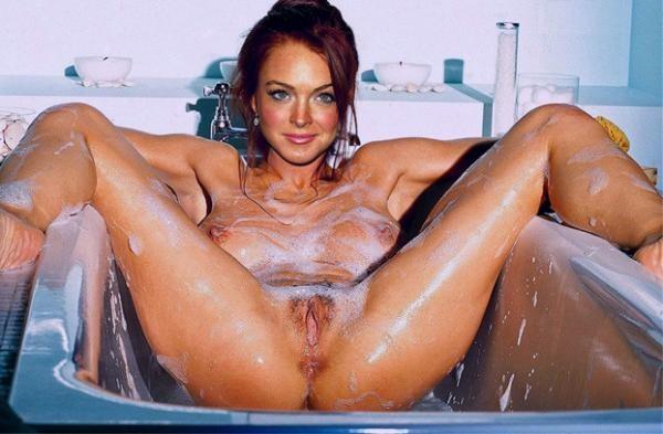 Линдси Лохан сама не знает, как стала звездой порно – любители фотошопа сделали ее развратной сучкой