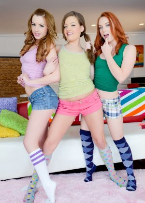 Lexi Belle, Dani Jensen, Ashlynn Leigh - Галерея 3426168 - фото 4