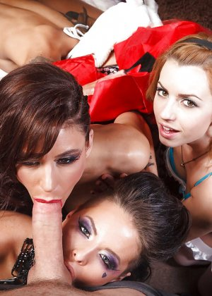 Lexi Belle, Gia Dimarco, Christy Mack, Bonnie Rotten - ������� 3436478