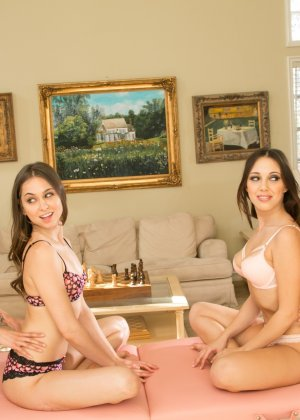 Оргии красивых лесбиянок, такие как эта всегда привлекают взгляд, они так нежны и соблазнительны - фото 2