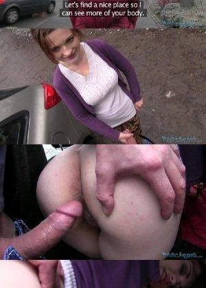 Изабелла показывает все самые интимные зоны прямо на улице и даже делает минет случайному прохожему - фото 20