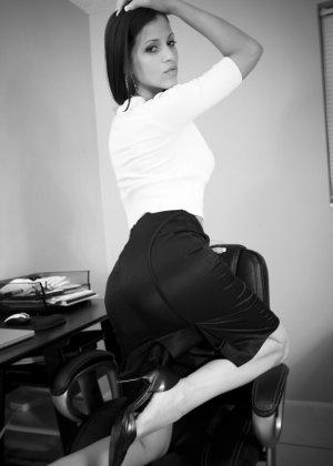 Джанесса Бразил проходит стажировку - фото 4