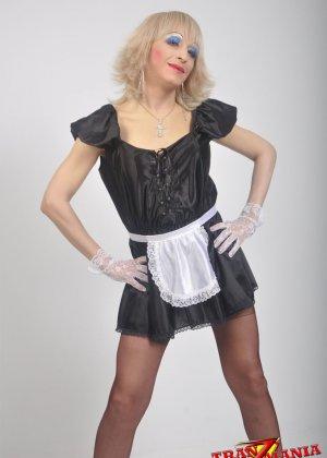 Транс носит женскую одежду - фото 9