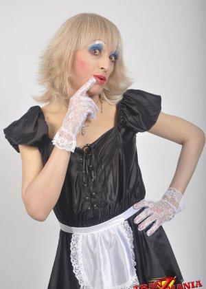 Транс носит женскую одежду - фото 10