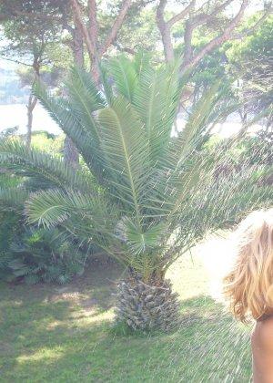 Катрин вместе со своим парнем устраивают себе шикарный отпуск и в это время делают красивые снимки - фото 9