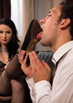 Верука Джеймс избивает и трахает в жопу своего мужа - фото 6