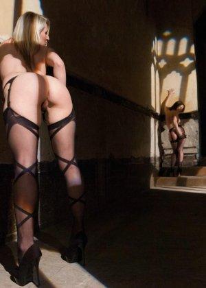 Три развратные шлюшки устраивают такие жаркие игры, что мужчины могут обкончаться от одного взгляда на них - фото 1