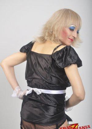 Транс носит женскую одежду - фото 12
