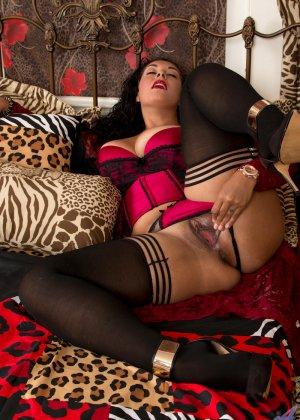 Пухленькой но темпераментной тигрице Анастасии Люкс очень хочется трахаться - фото 5