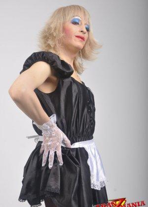 Транс носит женскую одежду - фото 5