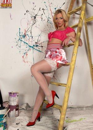 Девушка готова участвовать в ремонте - фото 10- фото 10- фото 10