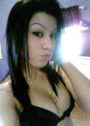 Подборка эротических фото красивых азиатских телок с большими сиськами - фото 12