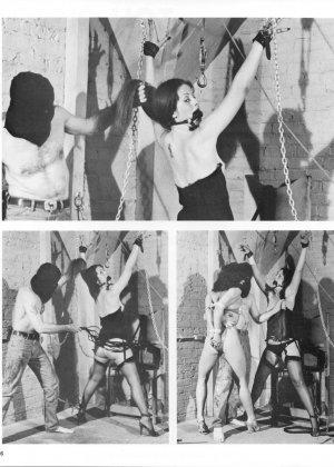 На черно-белых ретроснимках можно увидеть, что секс с применением фиксации существовал уже давно и активно использовался - фото 3