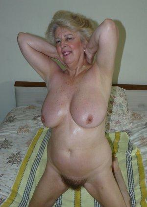 Подборка фото пожилых женщин которые не против показать рыхлую пизду - фото 9