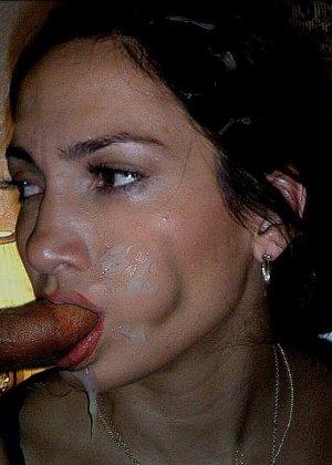 Латиноамериканские красотки фотографируются со спермой на лице, телки шикарные и сексуальные - фото 14