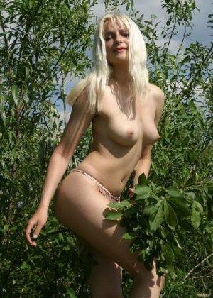 Подборка любительских фото грудастых телочек которые показали свои щелки - фото 42
