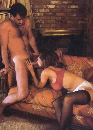 Кристи Каньен очень любит секс – это можно увидеть на винтажных фотографиях этой сексуальной галереи - фото 5