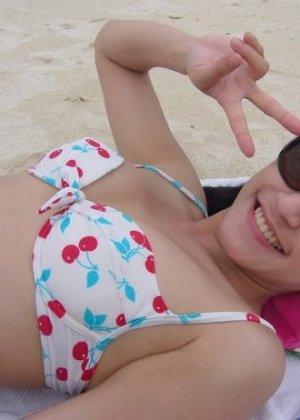 Знаменитая модель с Азии сделала хорошие фото со своего отдыха - фото 6