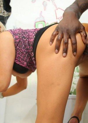 Чернокожий самец отпер в разгоряченную щель грудастую сучку Abbey Brooks - фото 5