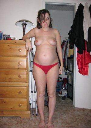 Беременные девушки тоже обладают достаточной сексуальностью, поэтому они хвастаются своим положением - фото 10