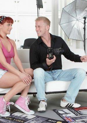 Терри Сулливан – рыжеволосая опытная сучка, которая знает как себя вести с мужским членом - фото 3