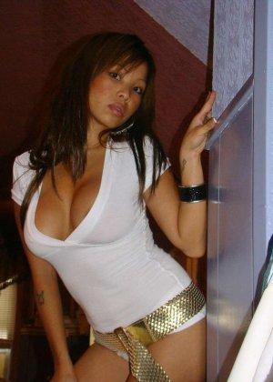 Подборка эротических фото красивых азиатских телок с большими сиськами - фото 8