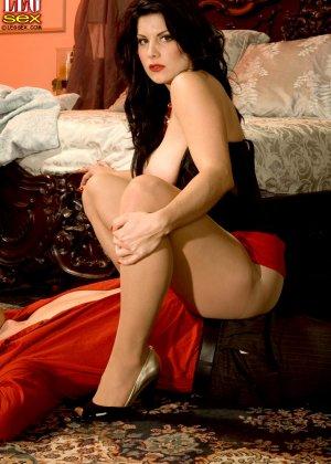 Эрин Маркс – опытная мадам с пышным телом, которая знает, как хорошо возбудить мужчину - фото 4