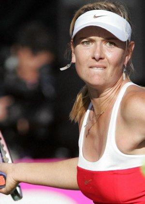 Эмоциональная русская теннисистка Maria Sharapova - фото 13