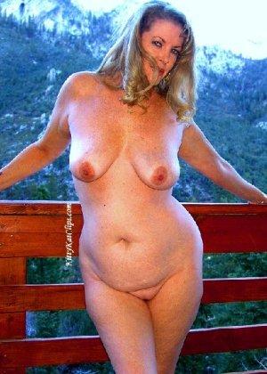 Зрелая мадам показала свои старые рыхлые сиськи всем желающим - фото 35- фото 35- фото 35