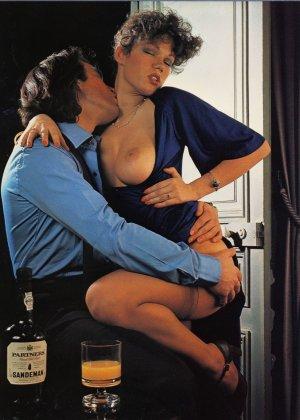 Бриджитт Лахайе очень сексуальна и знает об этом – она показывает свое сексуальное тело и подставляет для траха - фото 4