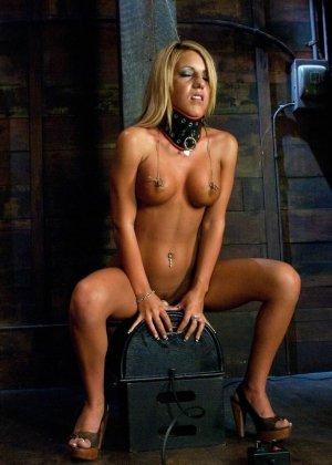 Холли Тэйлор – чувственная блондинка, которая испытывает на себе действие мощной секс-машины - фото 4
