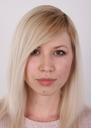 Кастинг с привлекательной блондинистой девушкой - фото 2