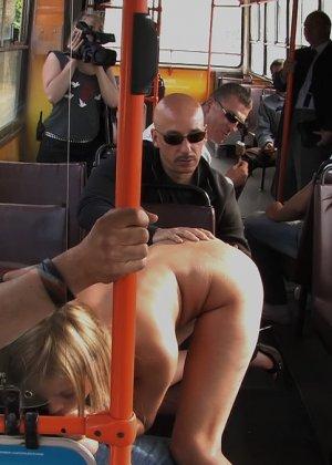 секс на фото на транспорте