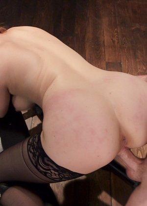 Пенни Пакс практикует такой заманчивый бондаж, и показывает, настолько приятно быть униженной - фото 12- фото 12- фото 12