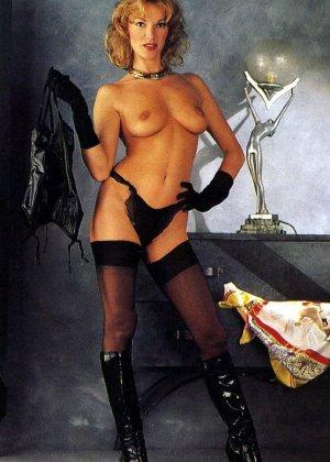 Бриджитт Лахайе очень сексуальна и знает об этом – она показывает свое сексуальное тело и подставляет для траха - фото 3