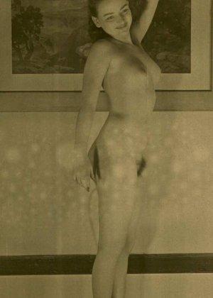 Очень старые фотографии показывают обнаженное тело женщины, которая не знала о существовании бритвы - фото 5