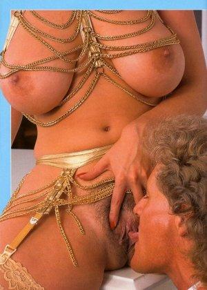 Кристи Каньен очень любит секс – это можно увидеть на винтажных фотографиях этой сексуальной галереи - фото 12